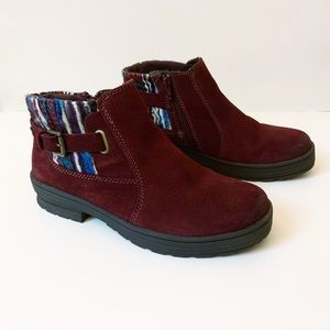Earth Origins Water Resistant Suede Ankle Boots